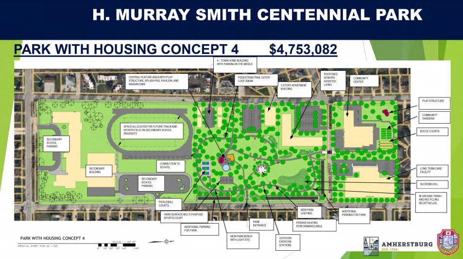 Centennial Park Concept 4