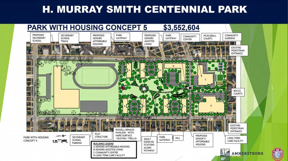 Centennial Park Concept 5