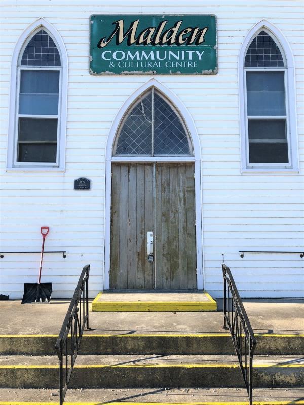 The Little White Church in Amherstburg