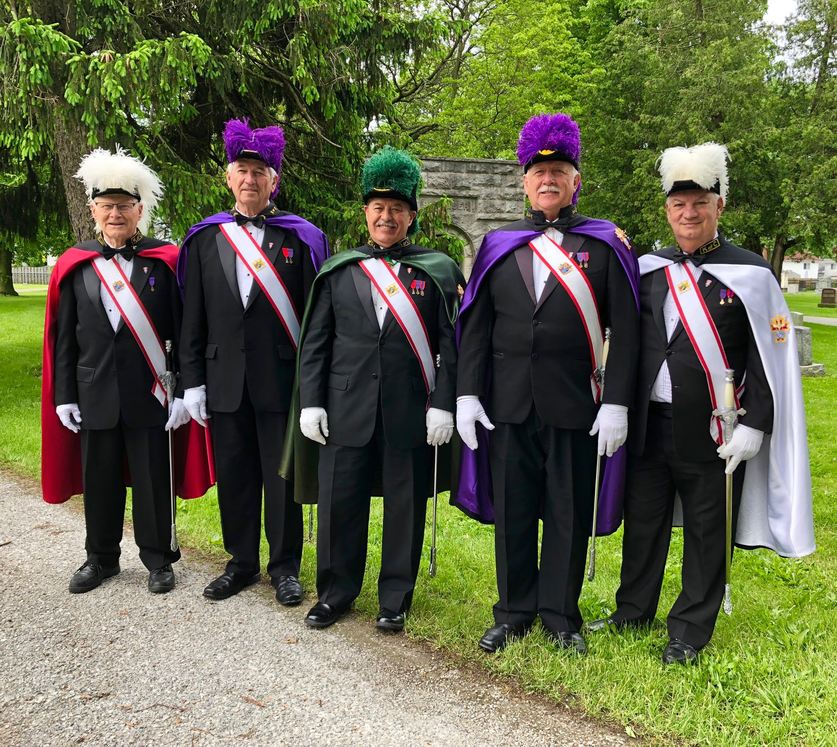 Knights of Columbus members