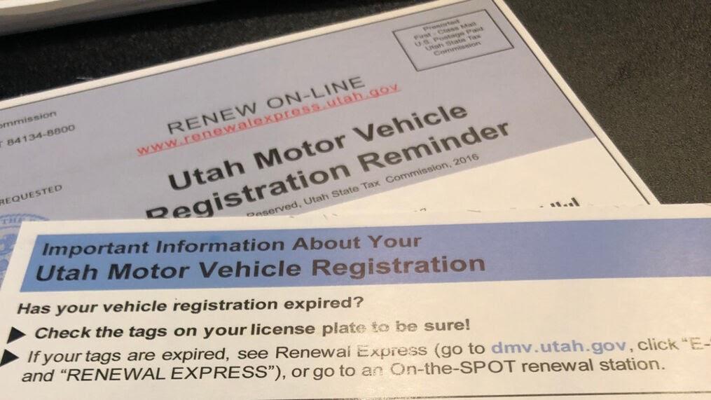 DMV Post Cards