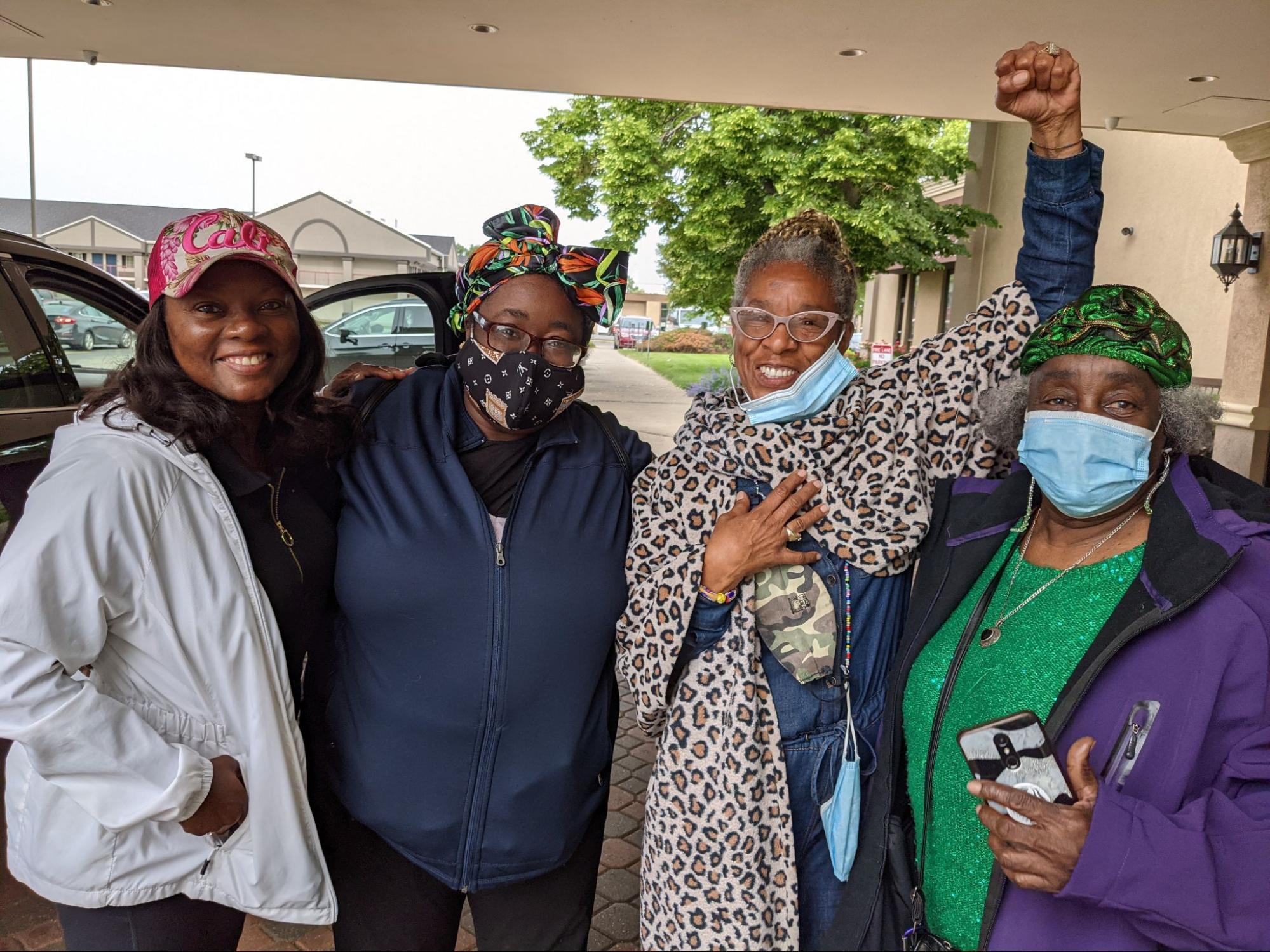 Grandmamas Robin Cole, Zerita Jones, Veronica Sance & Jessie Smith-Jones in Chicago