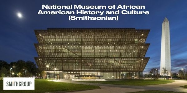 Graphic showing the National Museum of African American History and Culture (Smithsonian)