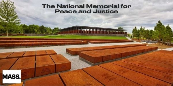 Graphic showing The National Memorial for Peace and Justice