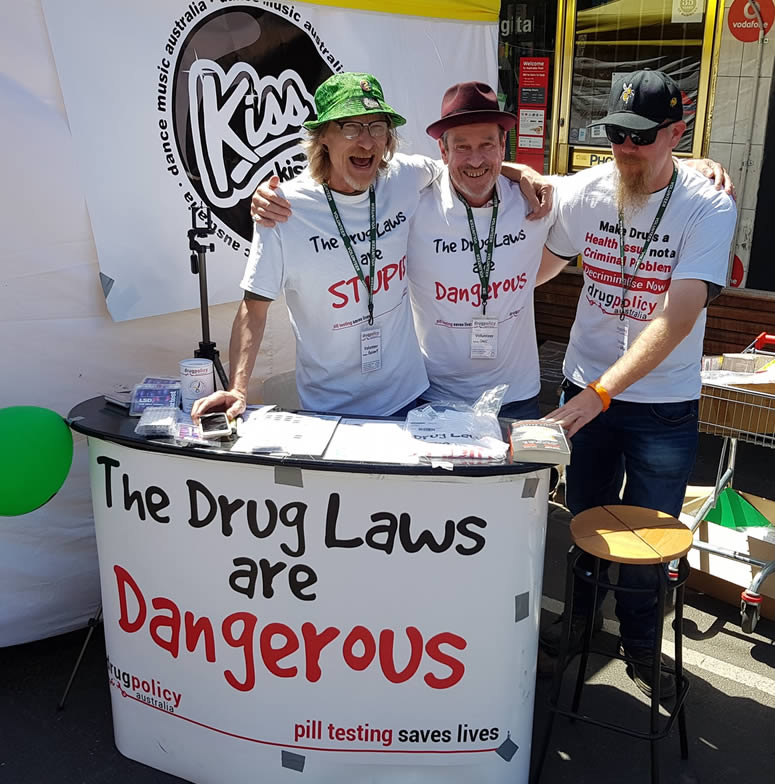 Drug Laws are Dangerous - Sydney Rd Street Party