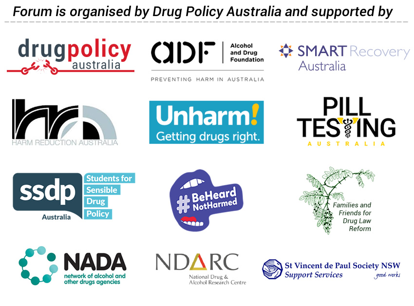 Guest Panelists for Sydney Drug Policy Public Forum, Is it time to legalise Drugs?