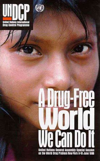 A drug free world We can do it