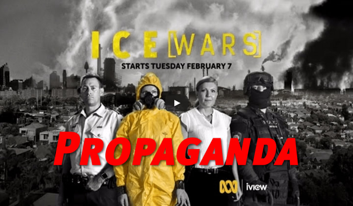 Abc Ice War is poor journalism and drug war propaganda
