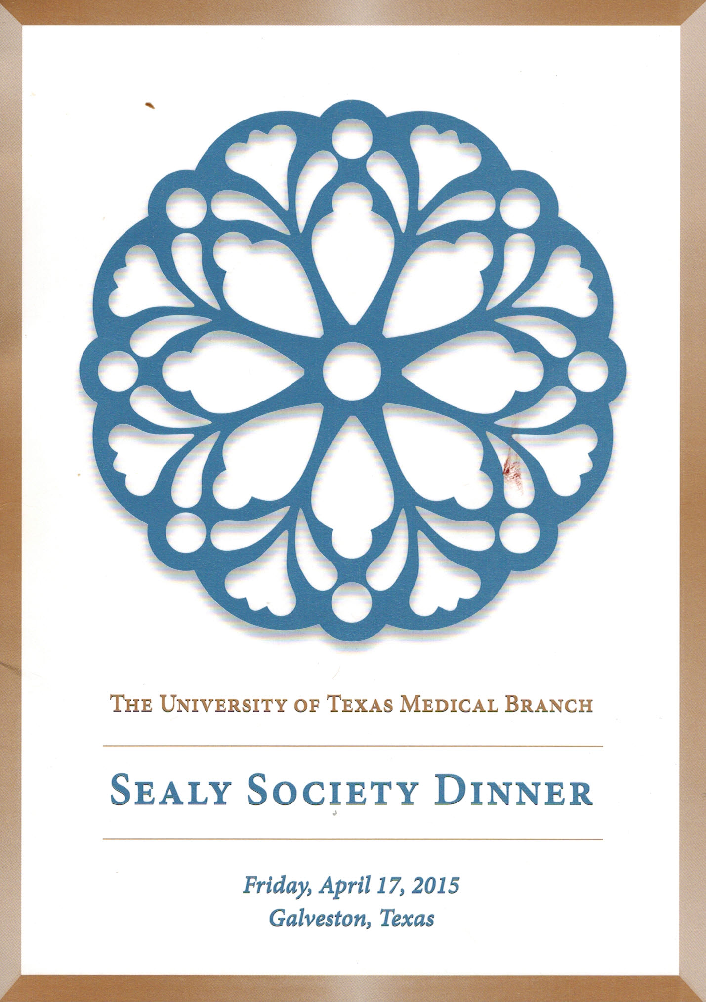 Sealy Society Dinner hosted by the University of Texas