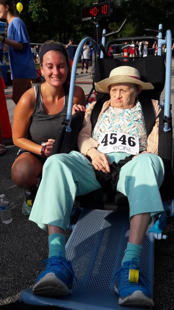 Martha Nearly 77 Takes on a 5k