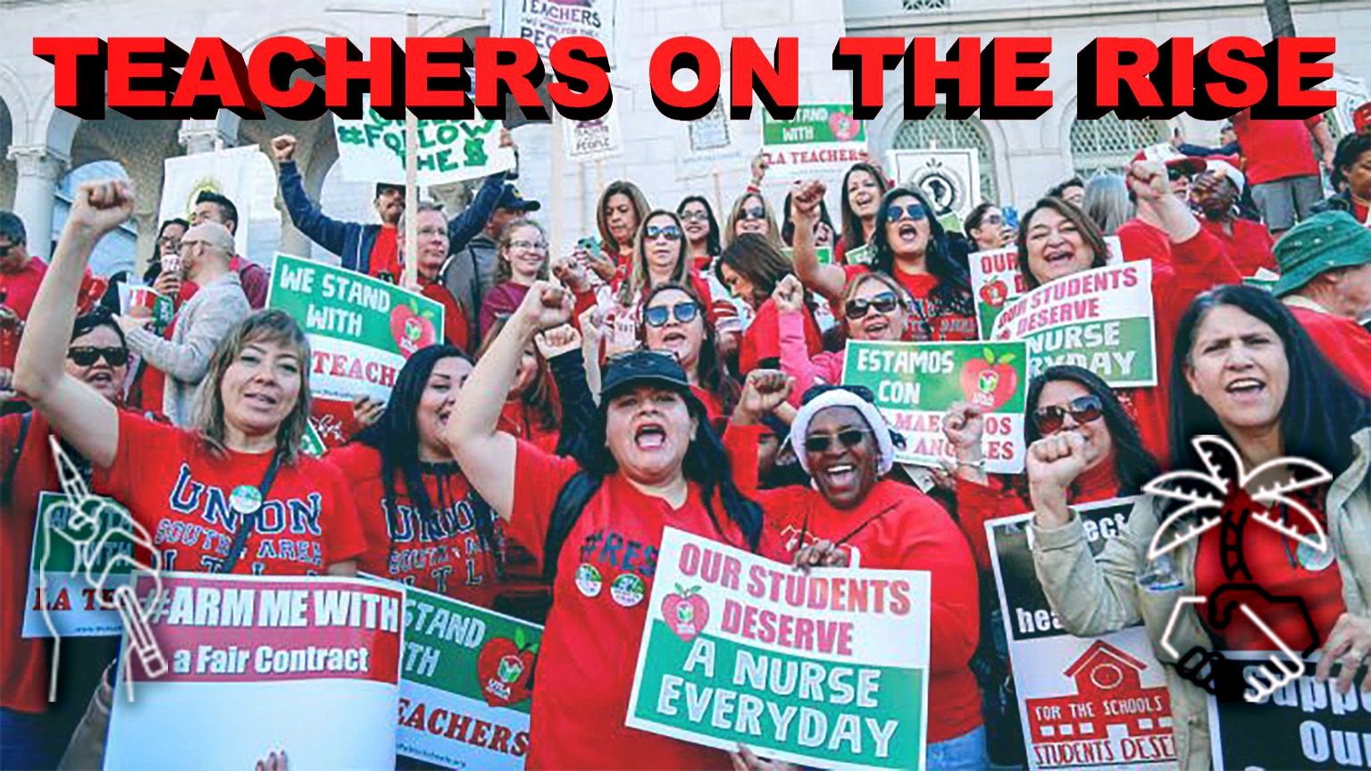 UTLA Striking Teachers