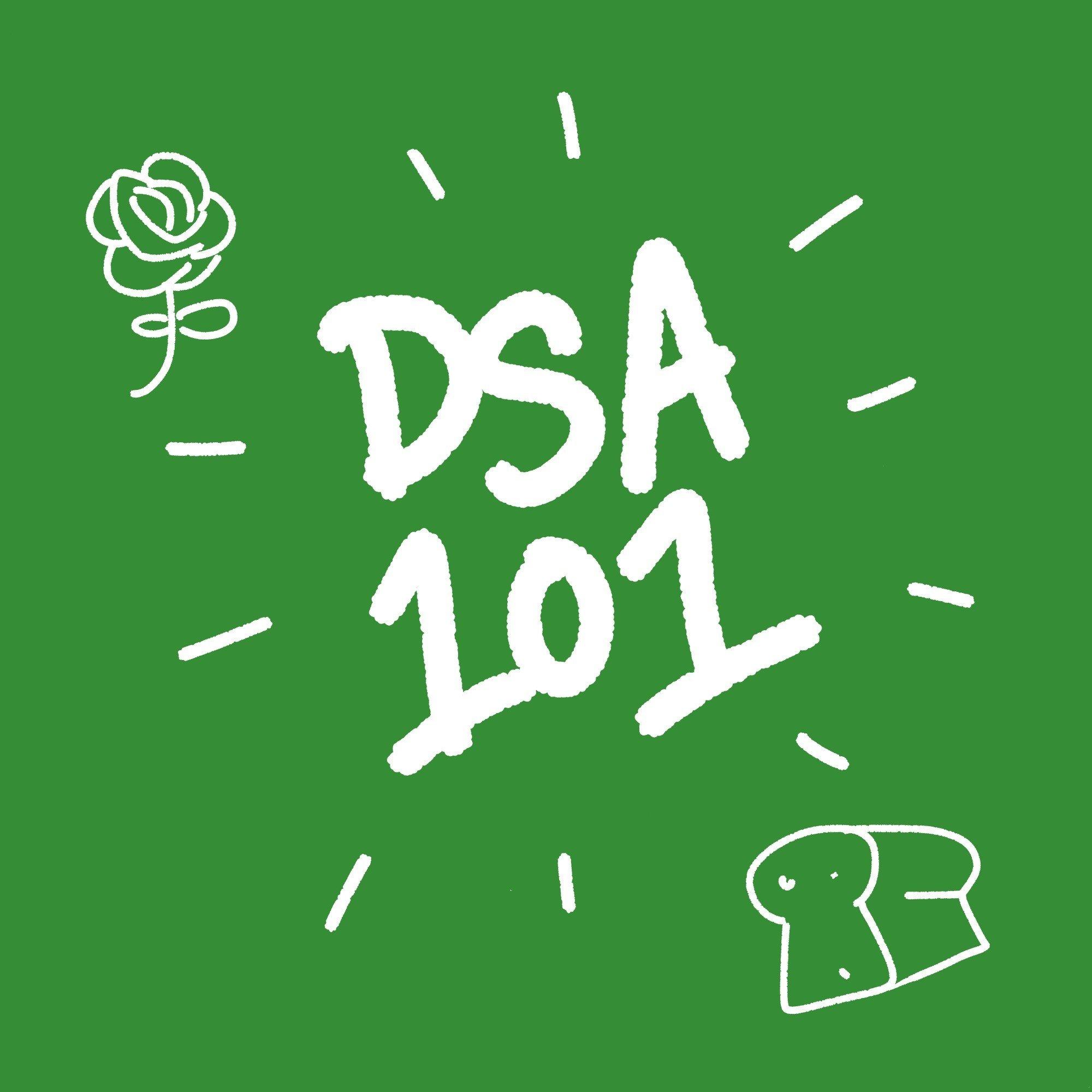 DSA 101 Flyer