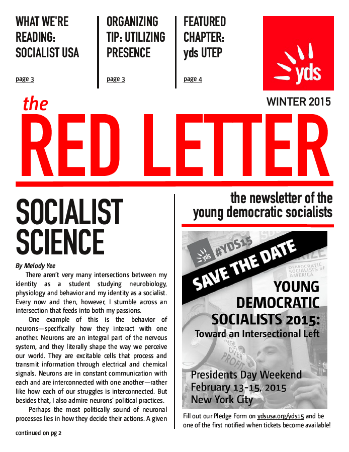 Red Letter Winter 2015
