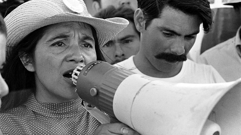 _1_-_United_Farm_leader_Dolores_Huerta_organizing_marchers_on_the_2nd_day_of__in_Coachella.jpg