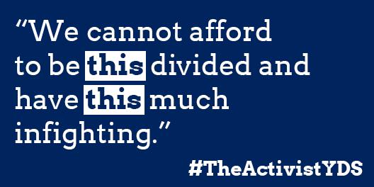 #TheActivistYDS
