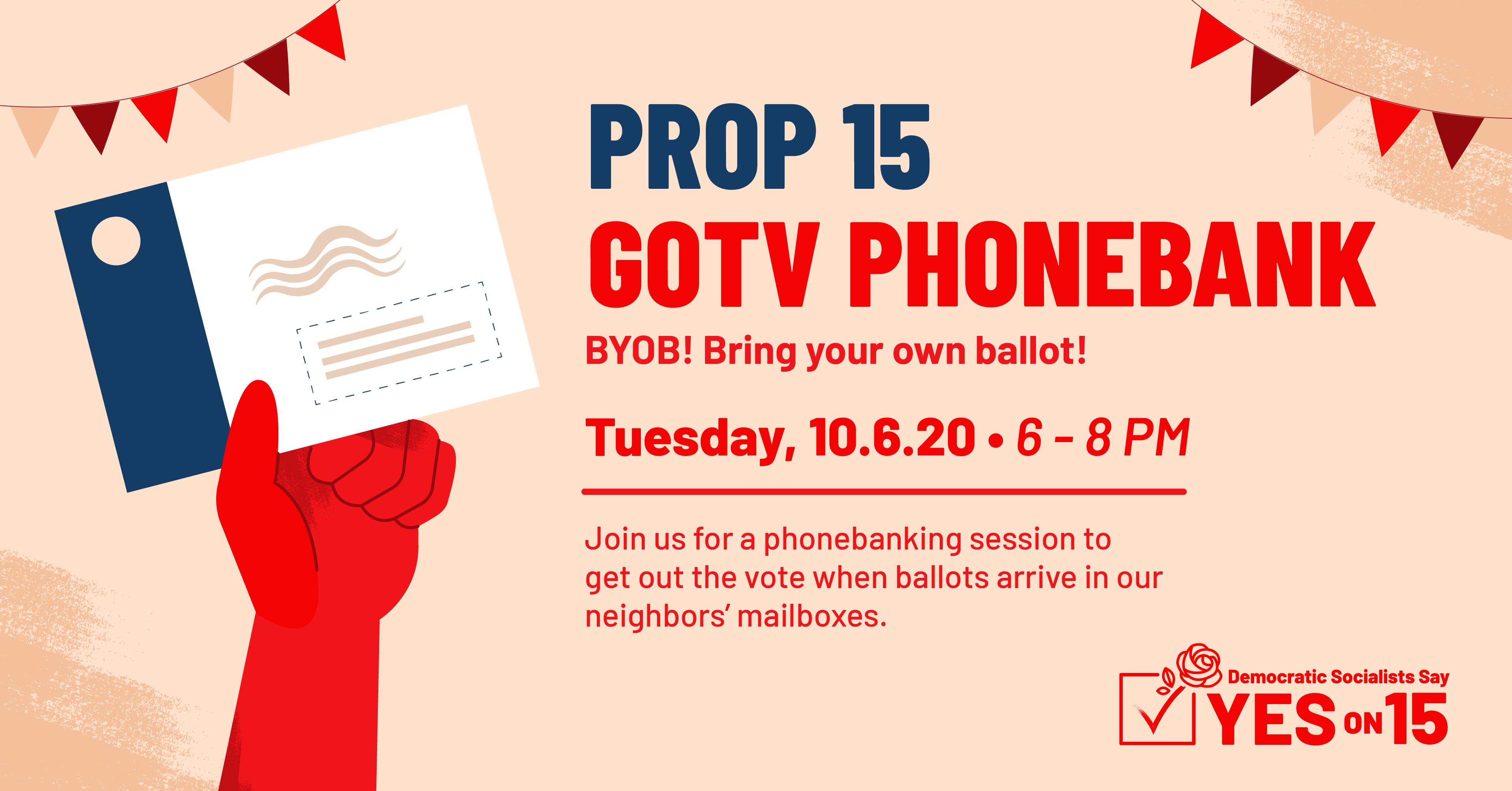GOTV Phonebank