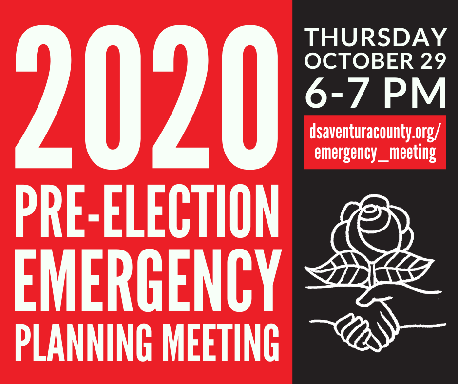 Pre-Election Emergency Meeting Graphic