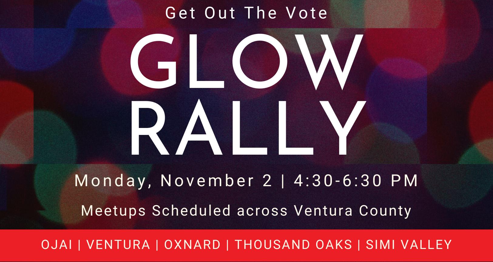 GOTV Glow Rally
