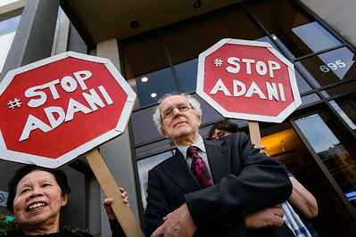 Stop Adani protesters