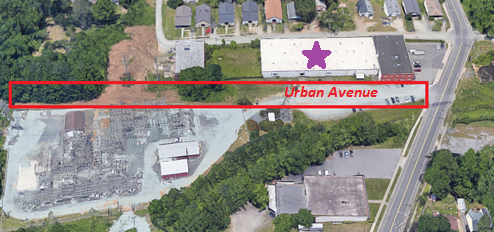 Urban Avenue, proposed street closure