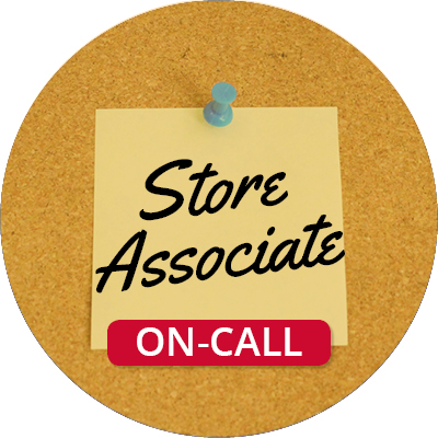 On-Call Store Associate