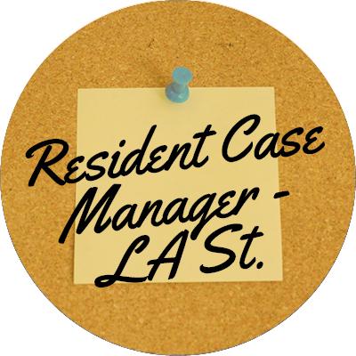 Resident Case Manager (LA St.)