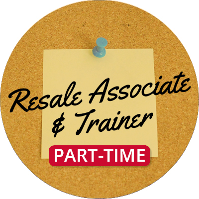 Resale Associate and Trainer (PT)