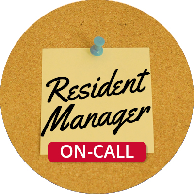 On-Call Resident Manager