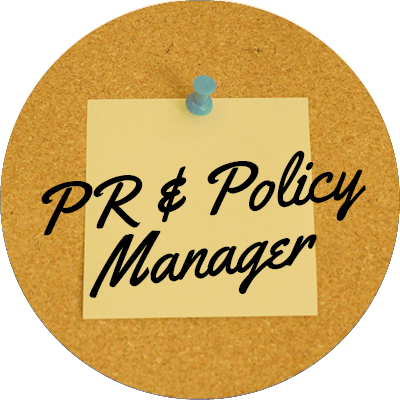 PR and Policy Manager