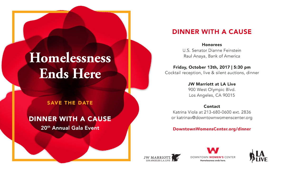 Join us for DWC's 20th annual Dinner With a Cause!