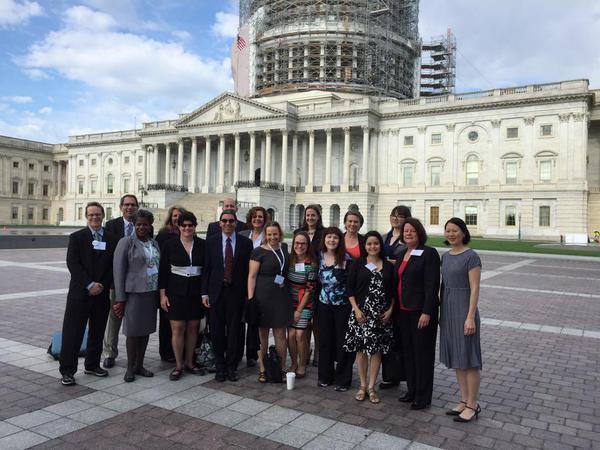DWC CPO Amy Turk in Washington D.C.