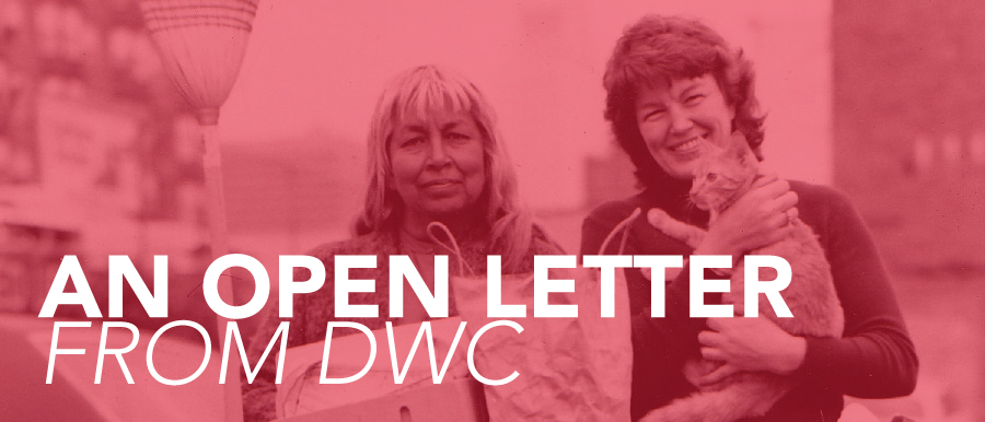 An Open Letter from DWC
