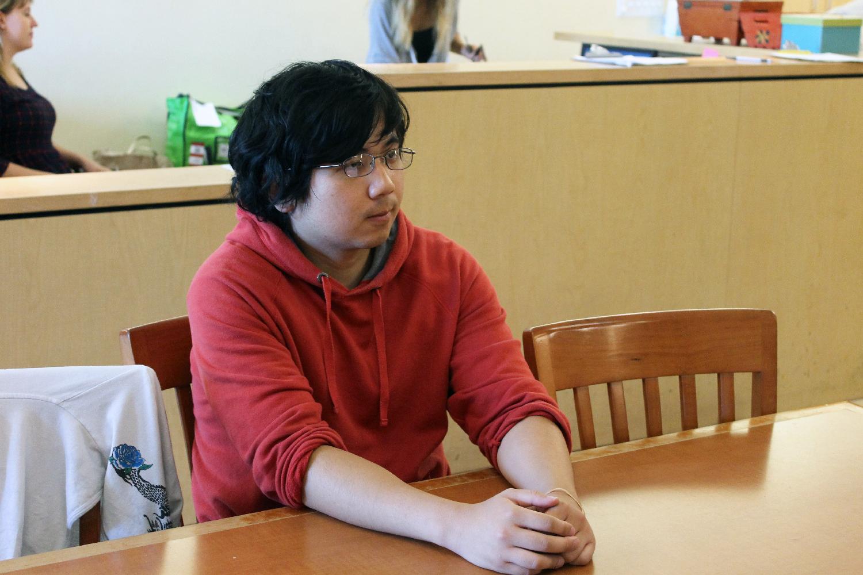 Jackson Huang talks about volunteering at DWC.