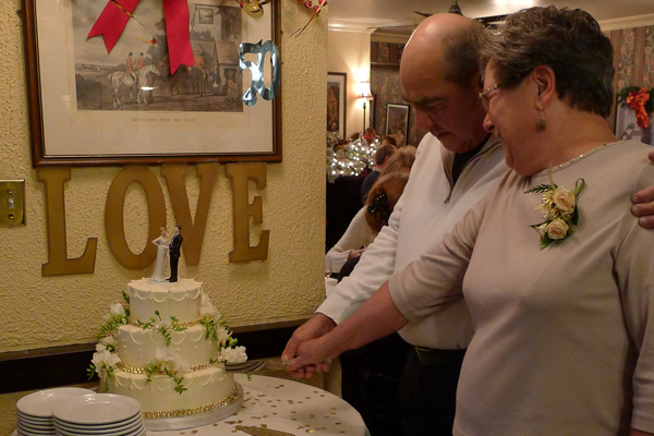 Scott and Karen's wedding anniversity