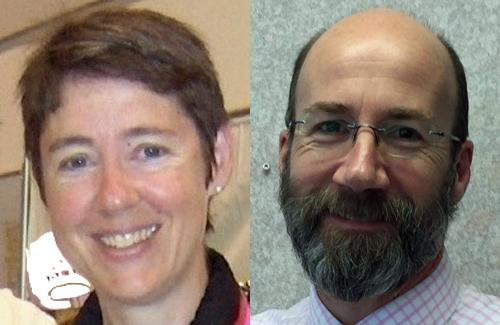 Dr. Chantal Perrot and Dr. Jonathan Reggler