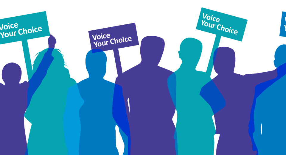 Voice Your Choice - Sign the Pledge