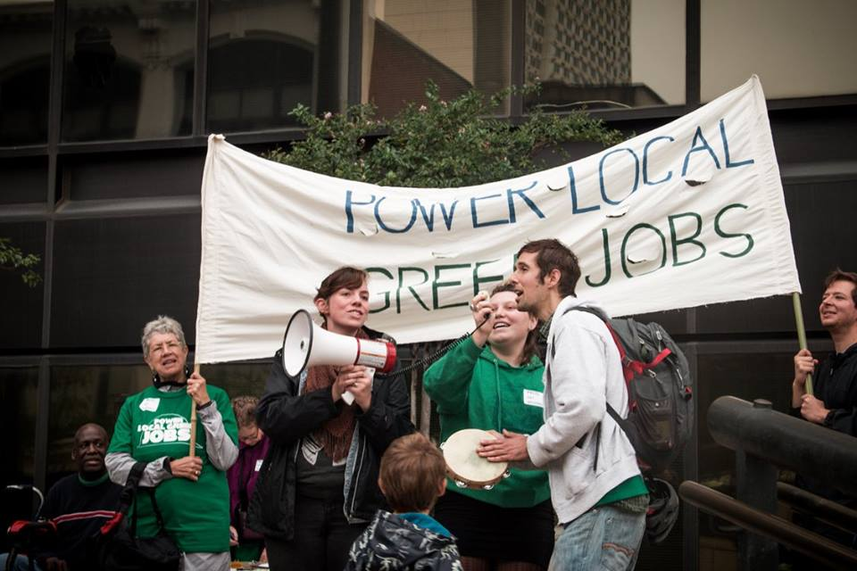 Singing for Green Jobs