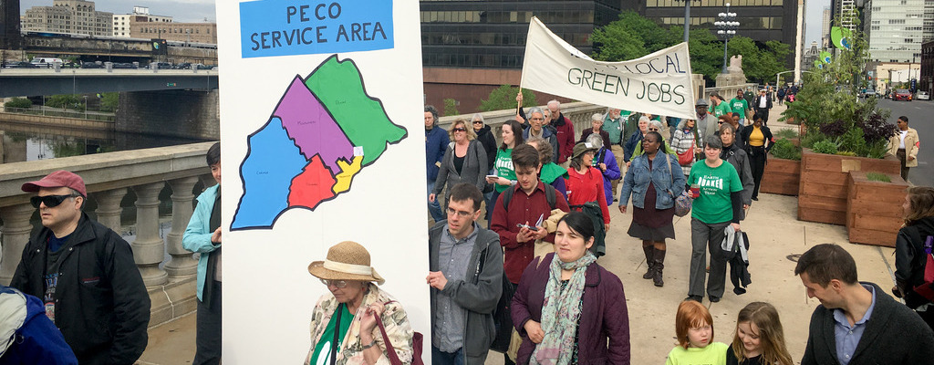 Walk for Green Jobs and Justice