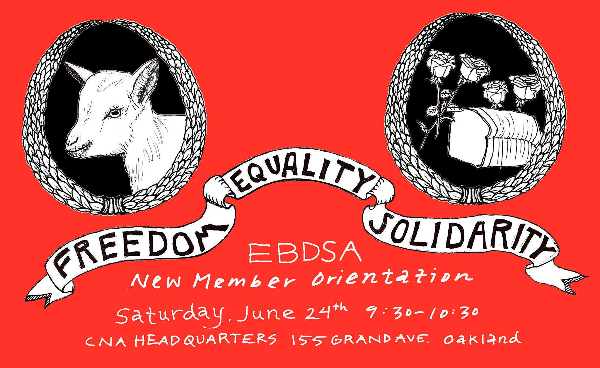 East Bay DSA New Member Orientation, June 24, 2017