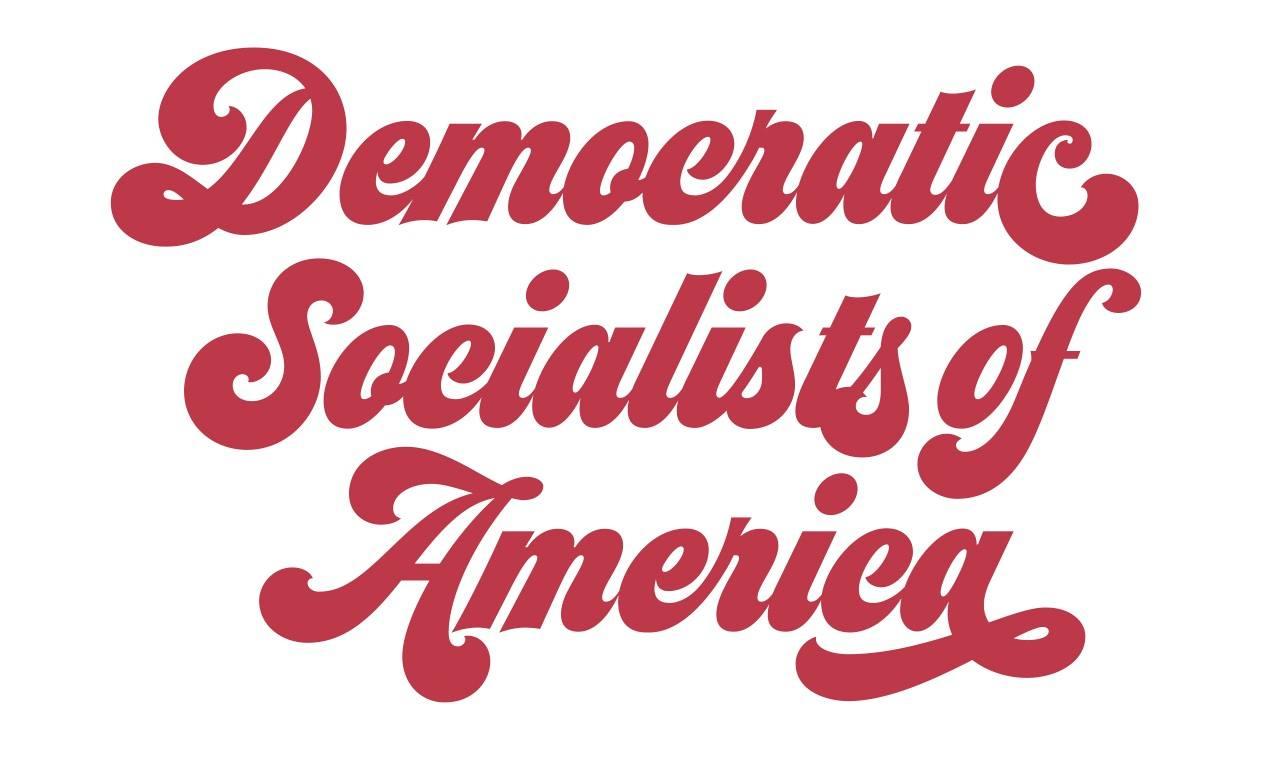 Democratic Socialists of America throwback logo