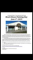 Saving Lawrencetown Beach:  Paint-In and Public Meeting