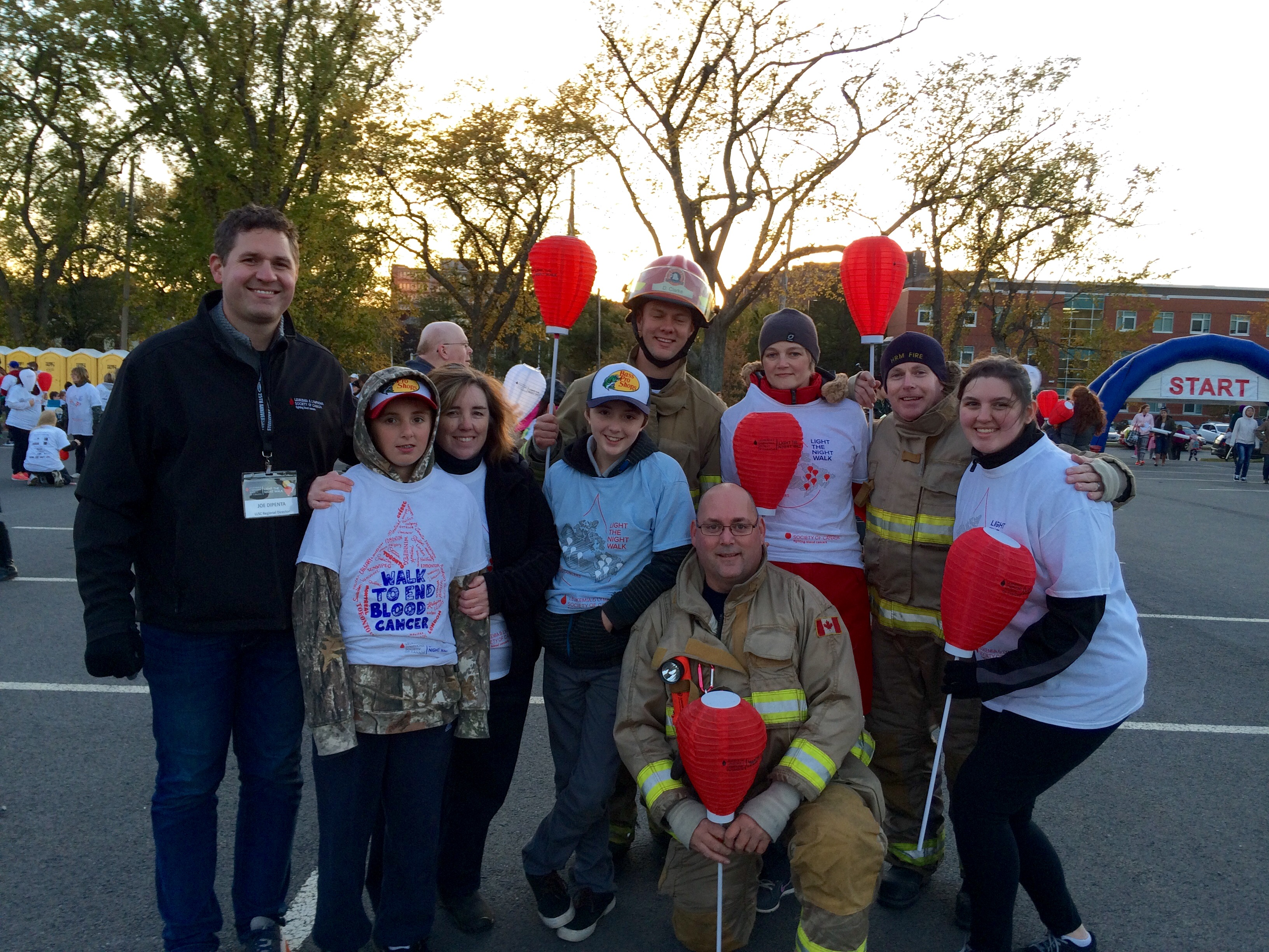 Light the Night March Team