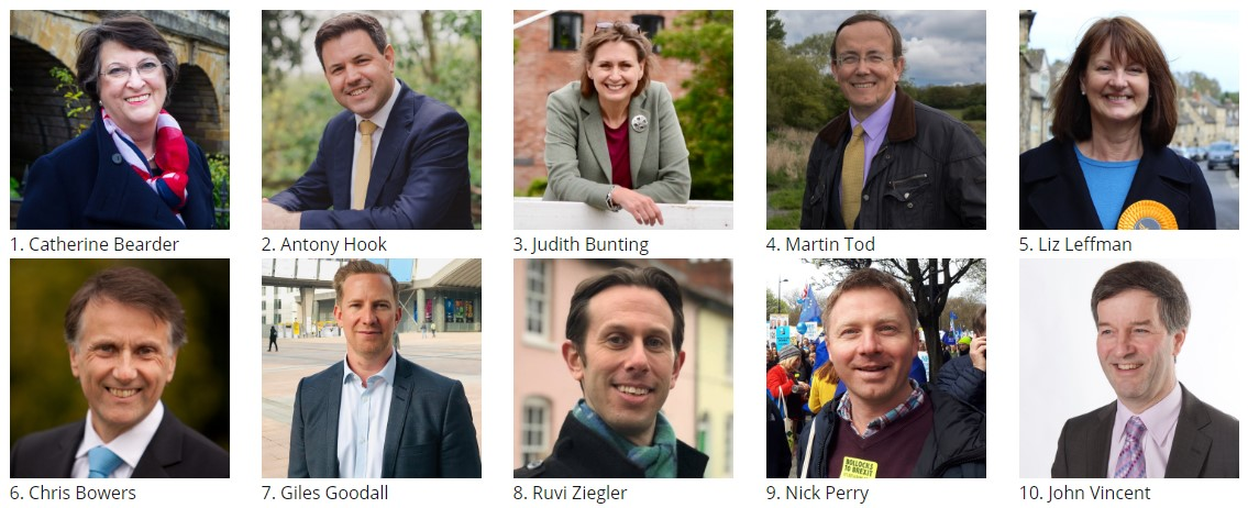 Meet the Liberal Democrats Standing in the EU Elections