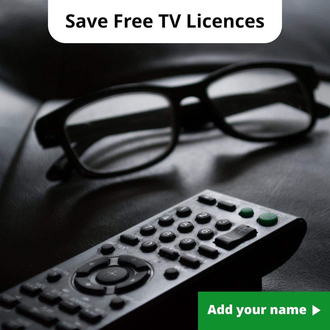 Save free TV Licences