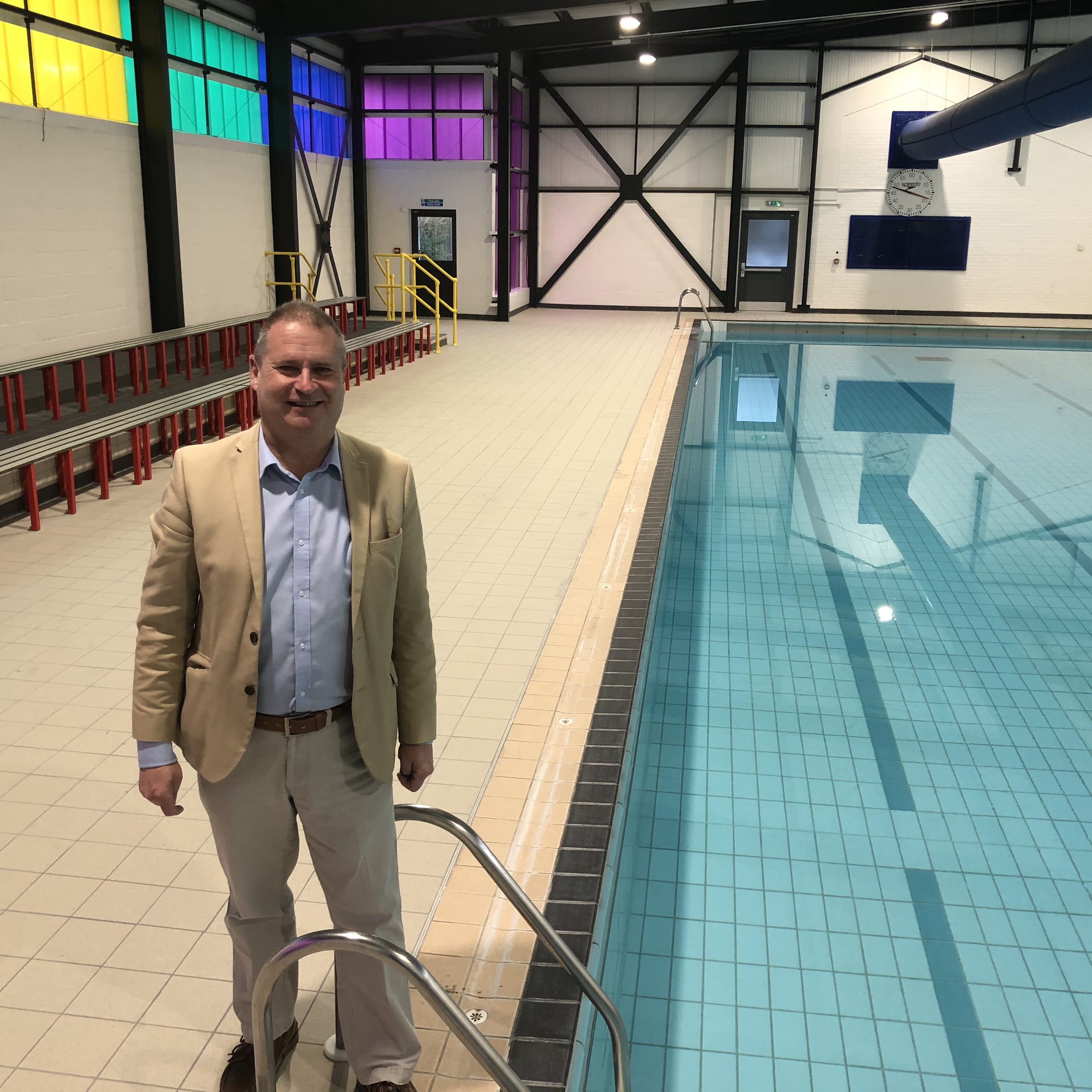 LIB DEM COUNCIL FUNDING FOR POOL