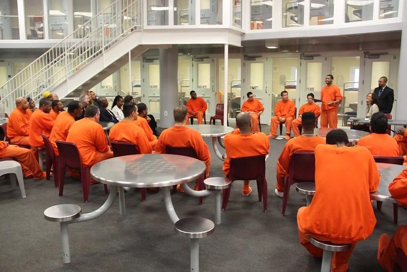 Graduation ceremony in San Bruno Jail