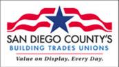 San Diego Building & Trades Council logo