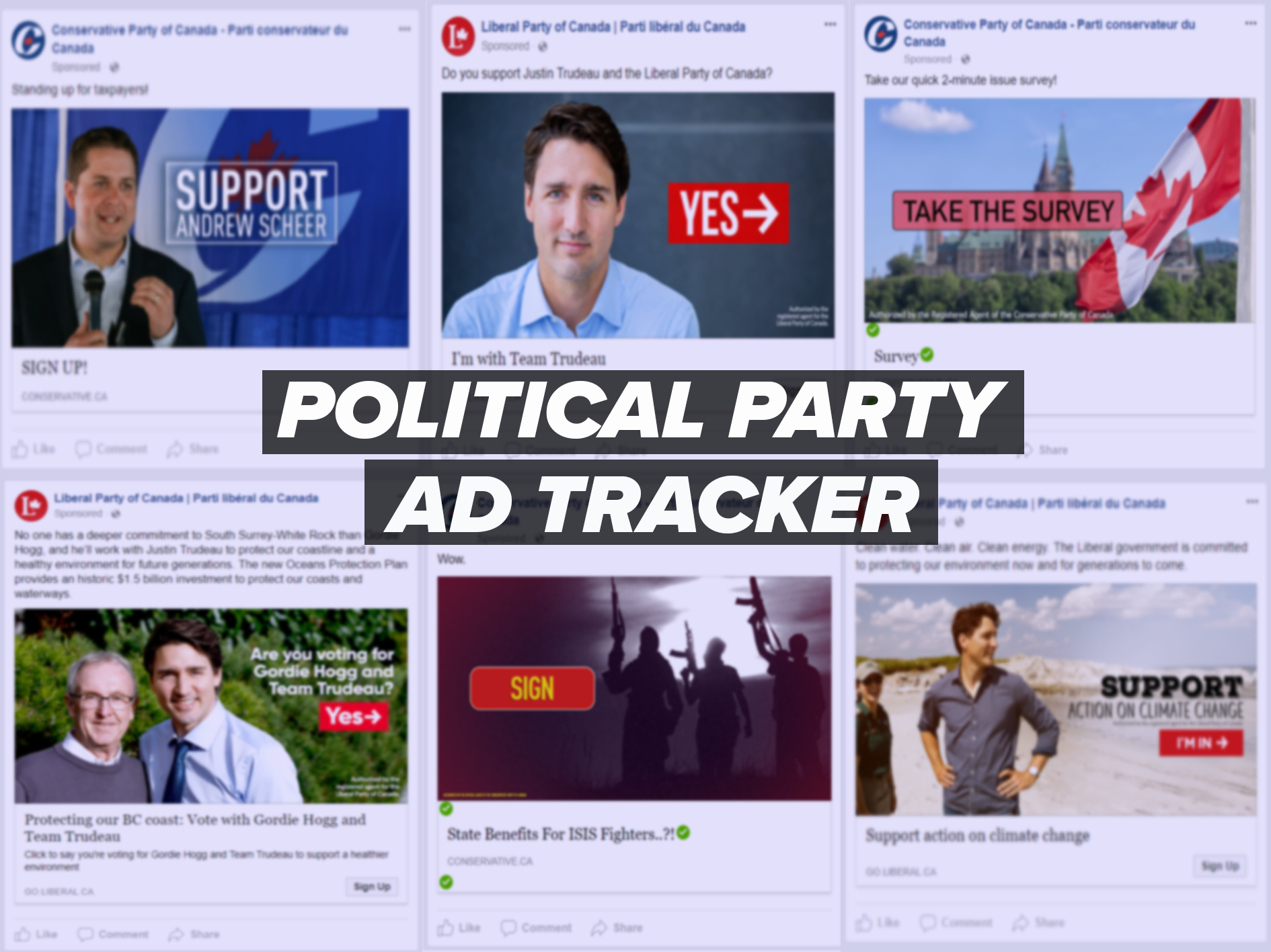 Political Party Ad Tracker - November 27, 2017