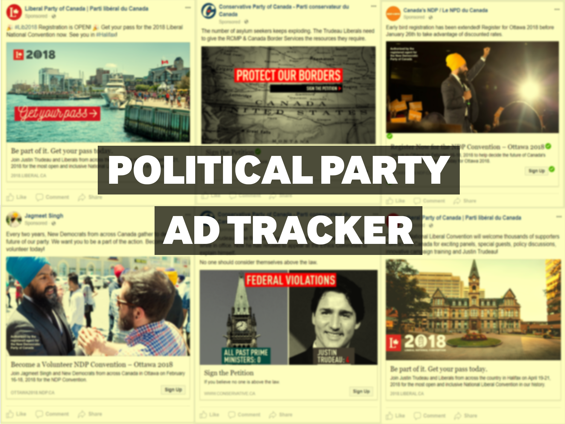 Political Party Ad Tracker — January 22, 2018