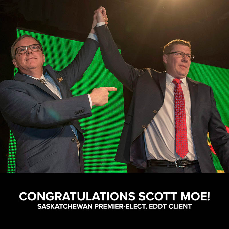 Congratulations Scott Moe!